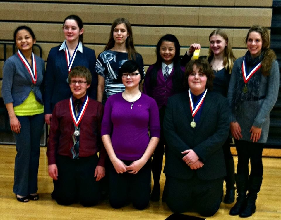 Tracy Jr High Speech Team