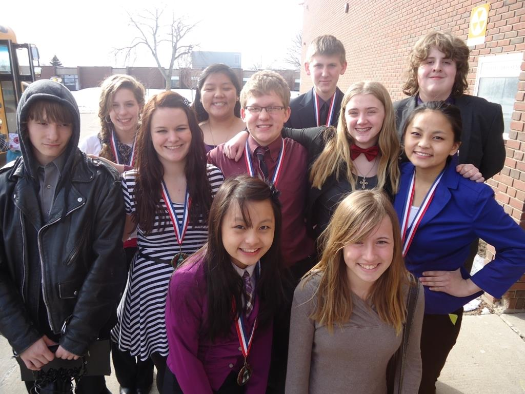 Tracy Area High School Speech Team